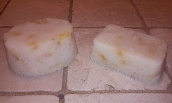 All Natural Handmade Coconut Oil Soap by barefootbubbles on Etsy