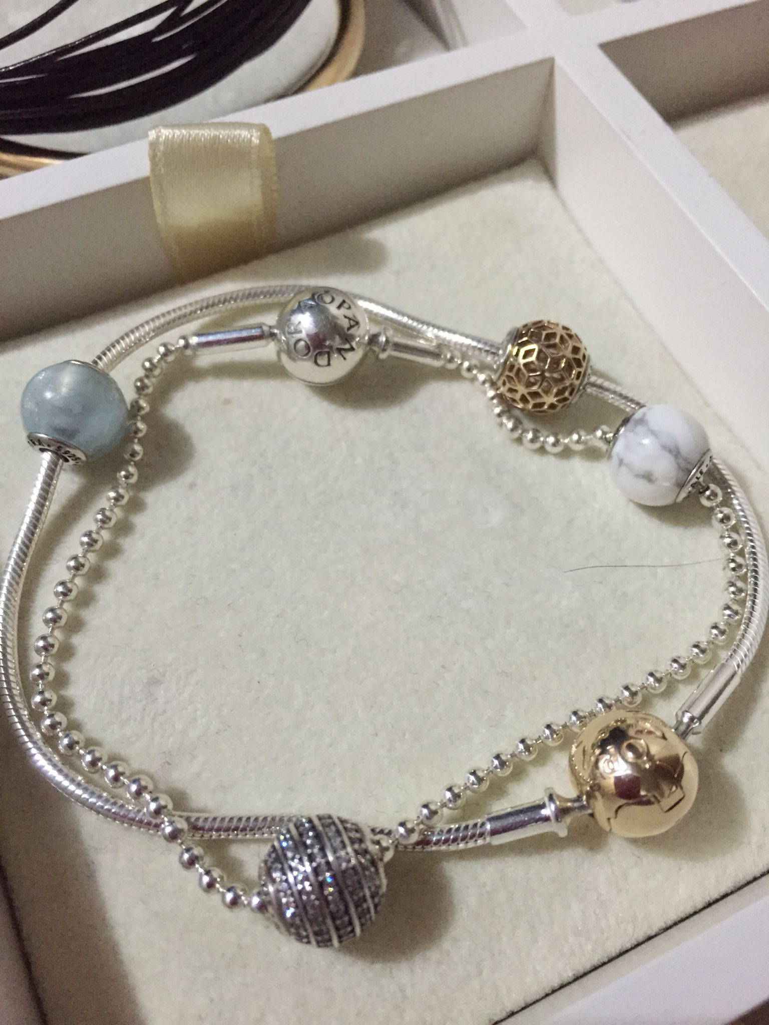 gift pandora bracelet mall set a includes free of iconic charm sets