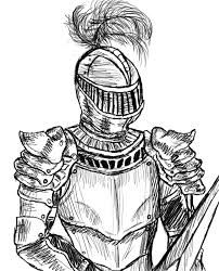 medieval knight drawing - Google Search | Design in 2019 ...