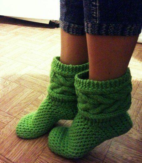 Вязание для мужчин носки. тапочки