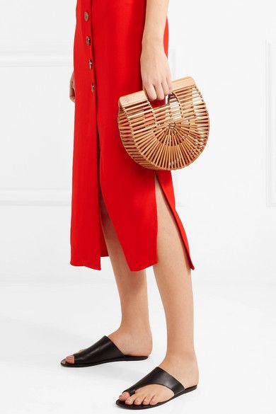 Cult Gaia Ark mini bamboo clutch | Apparel | Pinterest | Minis, Bag and  Fashion