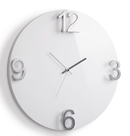 Add A Bold Touch To Your Decor With This Gorgeous Umbra Elapse Wall Clock.