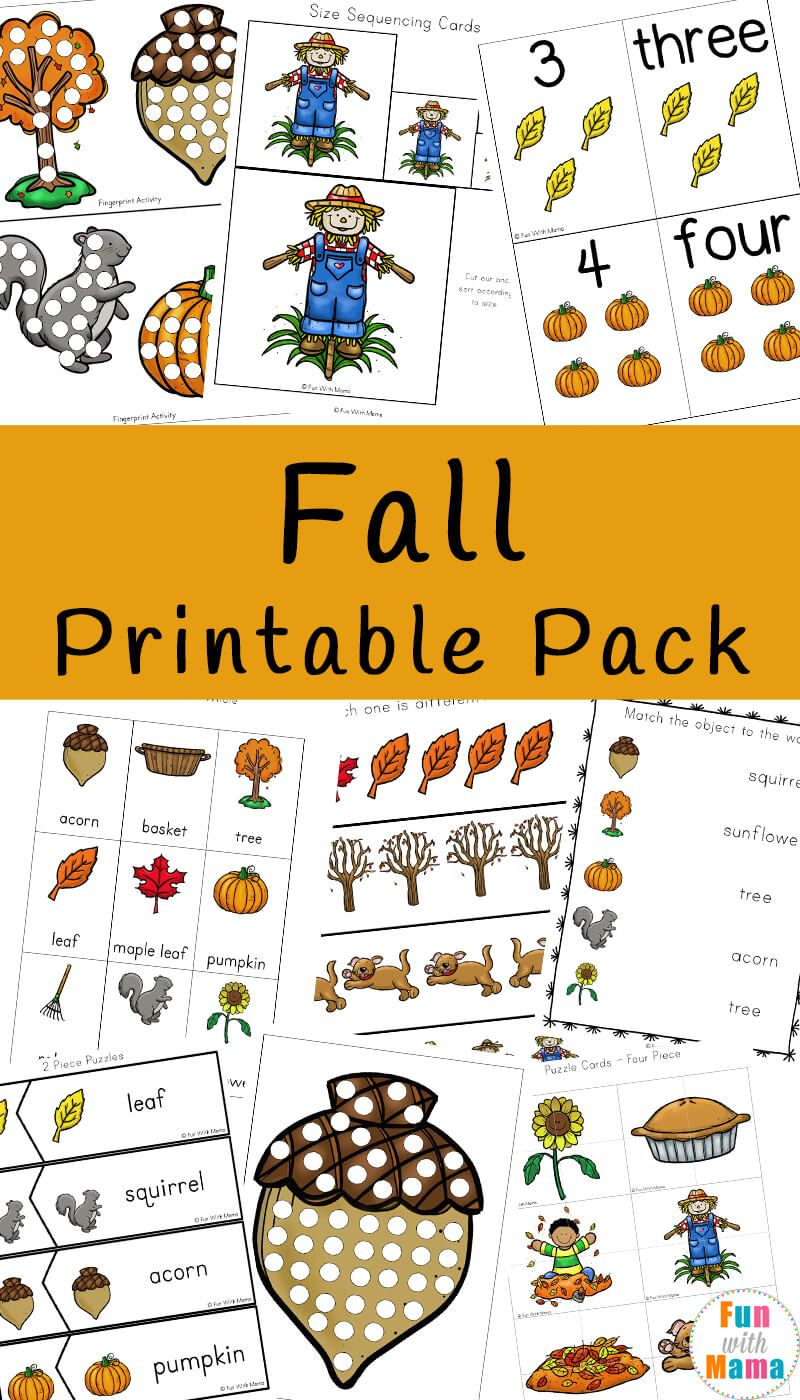Fall Theme Activities For Kids in 2018 | Kid Blogger Network ...