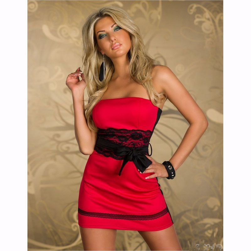 Lenrick On Sale New Sexy Peplum Dress Mini Club Dresses Women Work