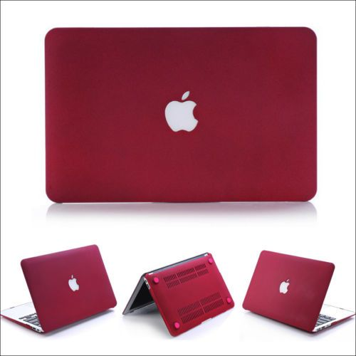 """2in1 Frosted Matte Hard Case Cover Skin for Macbook Air 11/""""13/'Pro 13/""""15/""""W//Retina"""