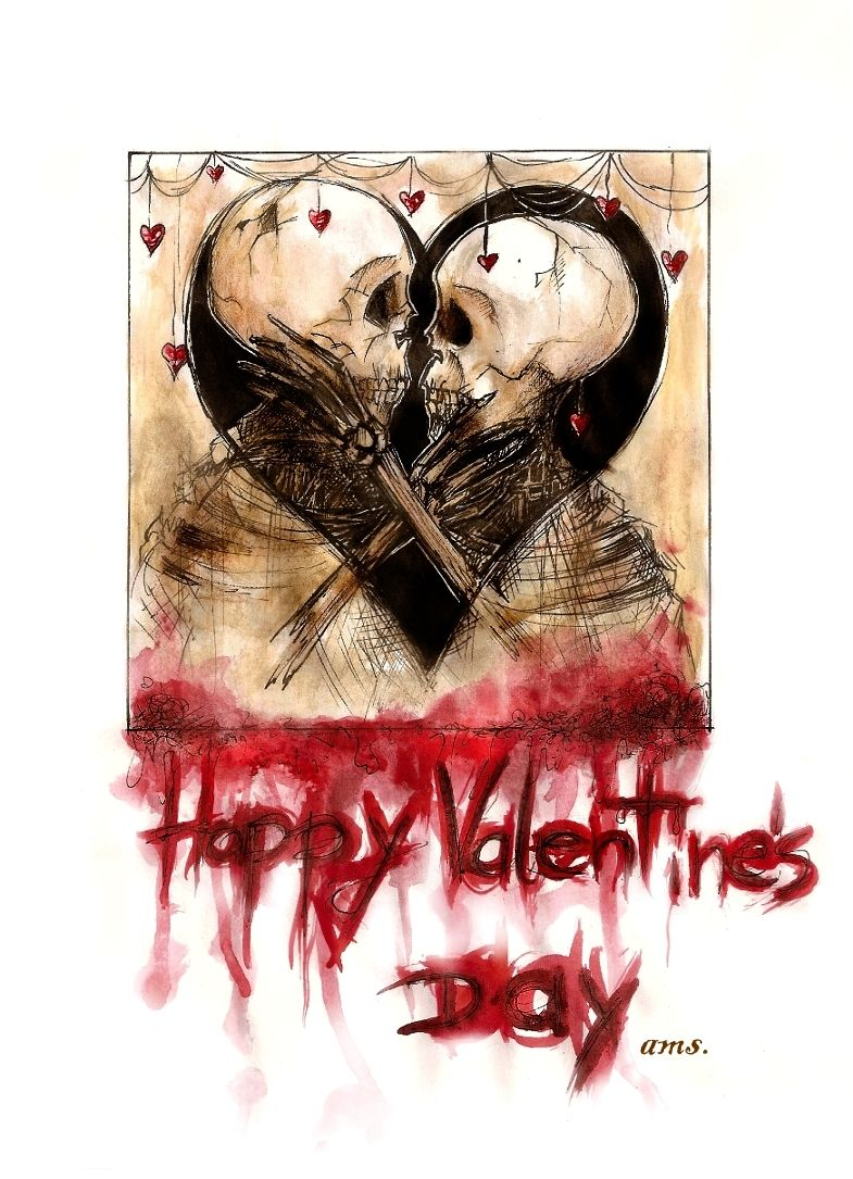 Every day is Halloween Art, Be my valentine