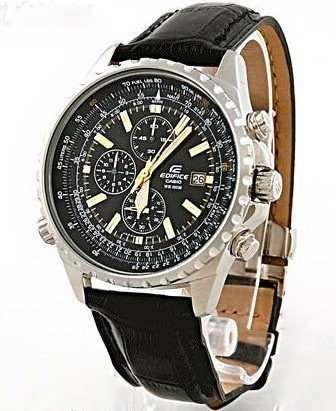 6e171ef525aa reloj casio edifice ef 527 crono cuero hombre 100% original ...