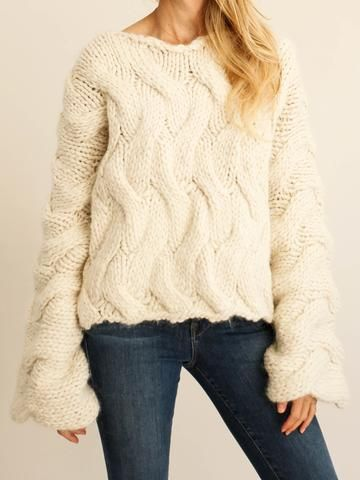 Delfina Balda - Alba Knit - Off White