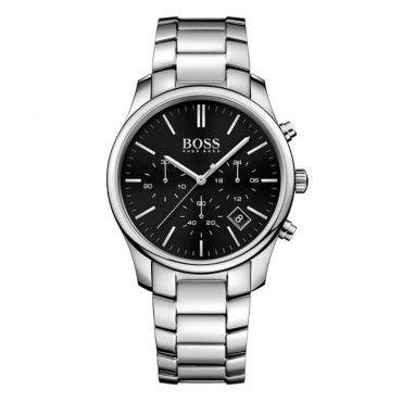 4558b76c46 1513433 Ανδρικό κλασικό quartz ρολόι HUGO BOSS με χρονόμετρο