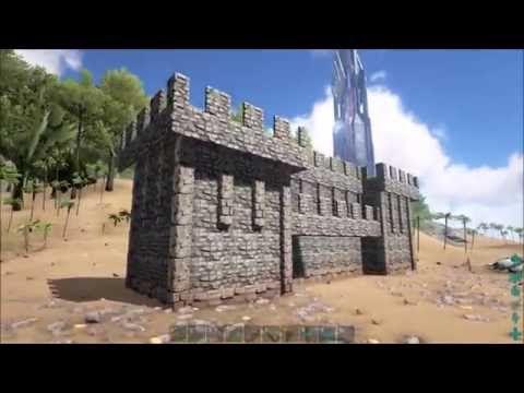 Image result for ark survival evolved castle How to build medieval - new blueprint ark survival