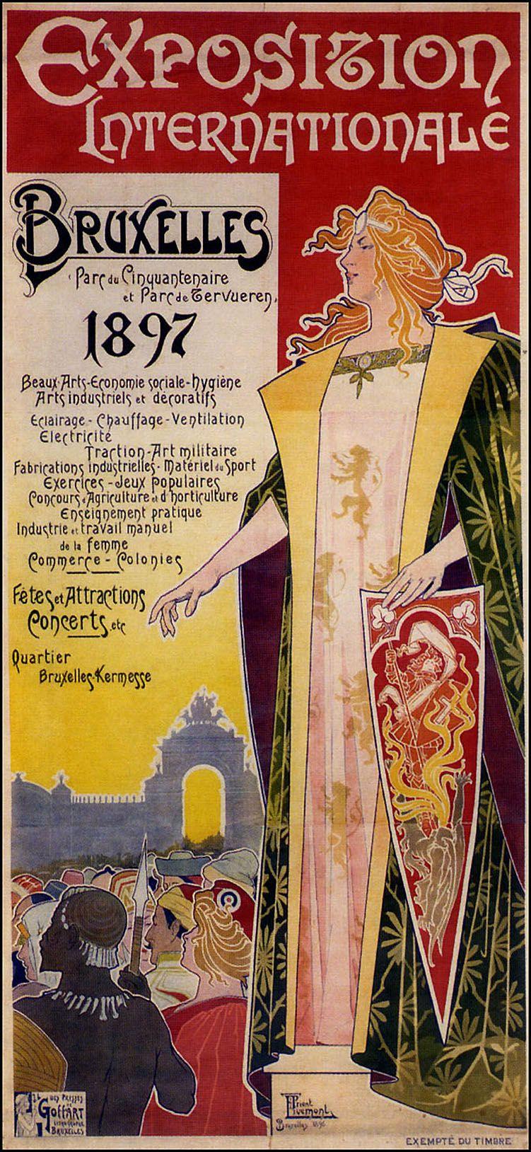 16 Idées De L Art Nouveau Partie 5 Henri Privat Livemont Art Nouveau Affiche D Art Nouveau Affiche Vintage