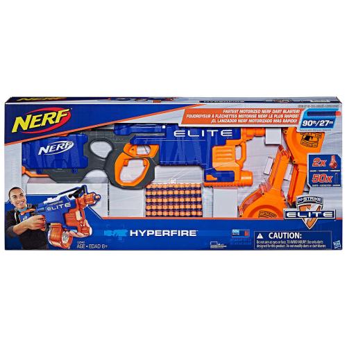Fastest Shooting Nerf Gun: NERF Elite Hyperfire