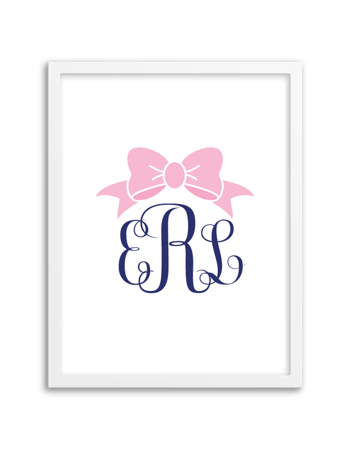 Monograms make your own monograms using our free templates free download and print this free bow printable monogram using our free monogram generator monogram maker maxwellsz