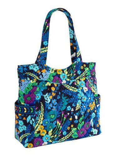 c9e90ac98c Vera Bradley Pleated Tote Zip Top Bag    Additional details at the pin  image