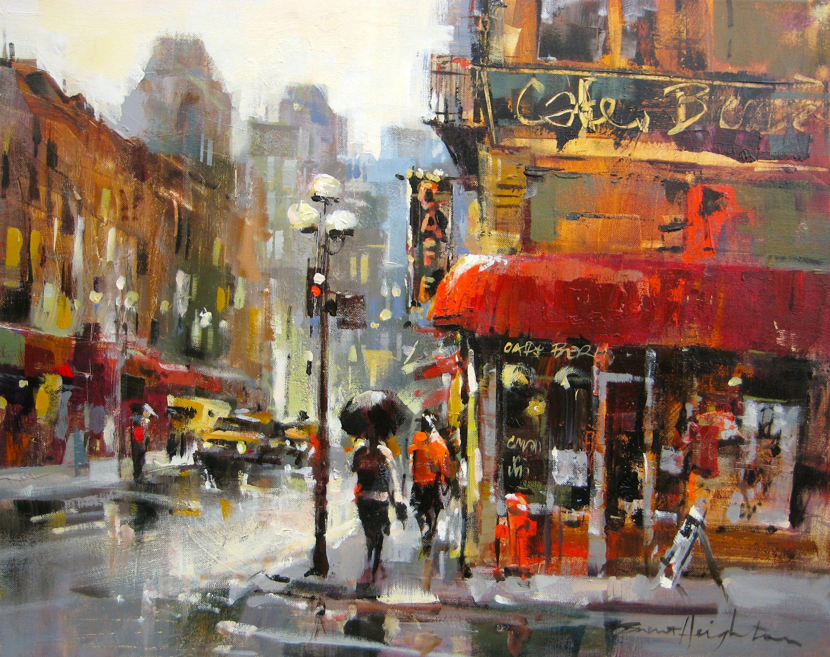 Brent Heighton Rain Painting Brent Heighton Painting