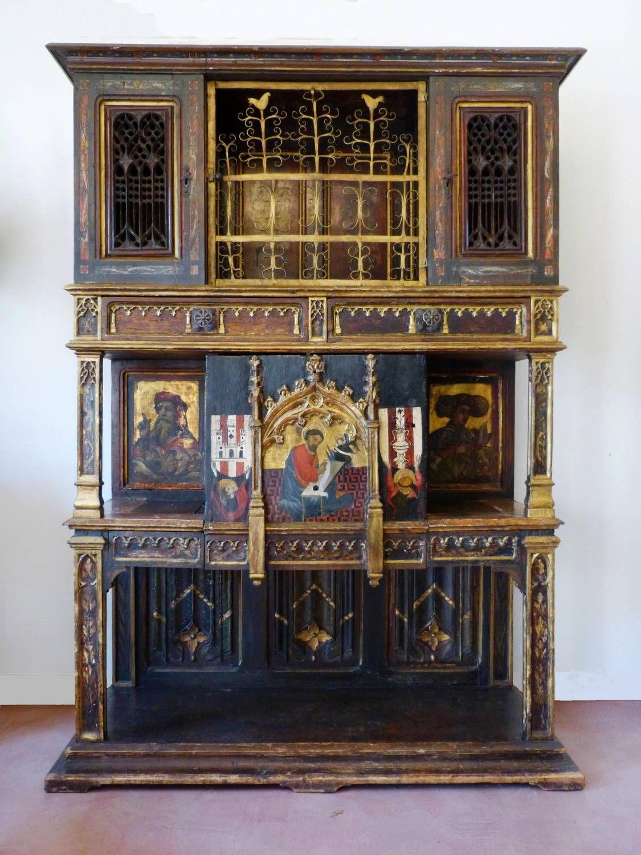 Antique gothic revival furniture for sale - Antique For Sale Gothic Dressoir Or Dresser From The Middle Ages Medieval Portraits Dresser Sideboard Credenza