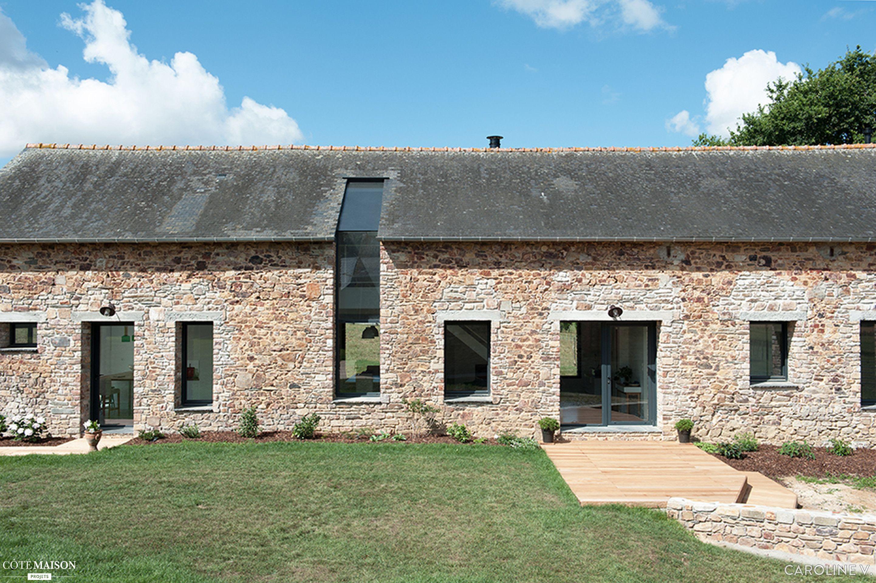 Renovation Fenetre Maison Ancienne réhabilitation d'une ancienne ferme bretonne datant du