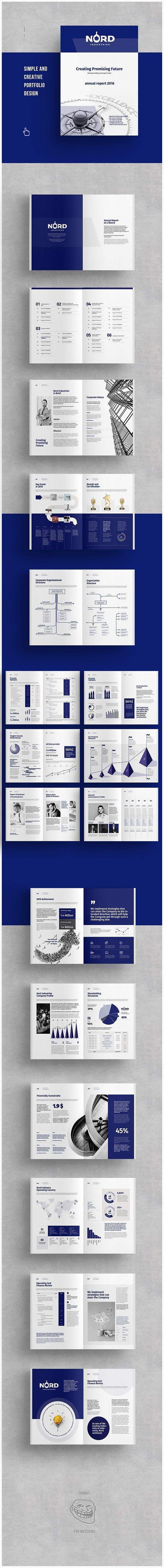 A Annual Report Annual Report Templates Bank Report Brand