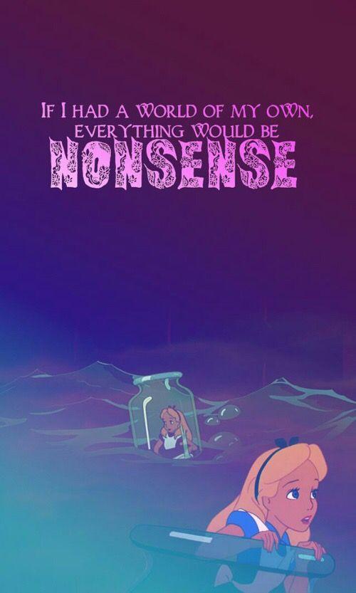 Disney Phone Wallpaper Iphone Pixar Alice In Wonderland Wallpapers Proverbs Quotes Amazing Rabbit Hole Mad