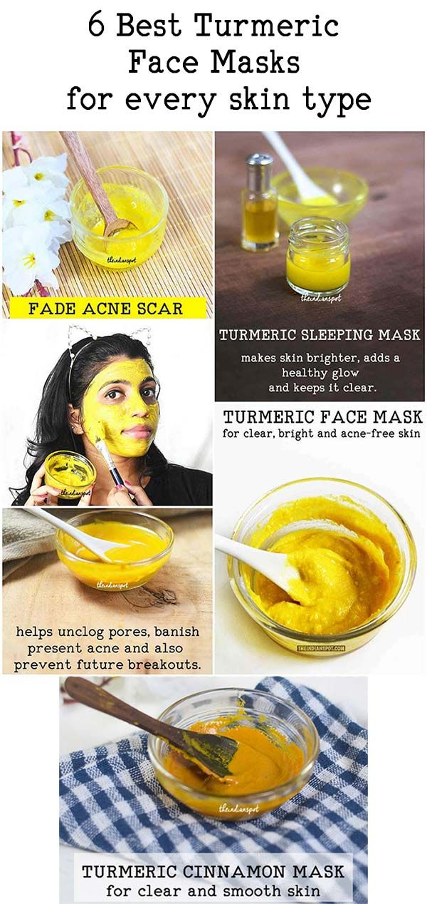 6 TURMERIC FACE MASKS FOR EVERY SKIN TYPE