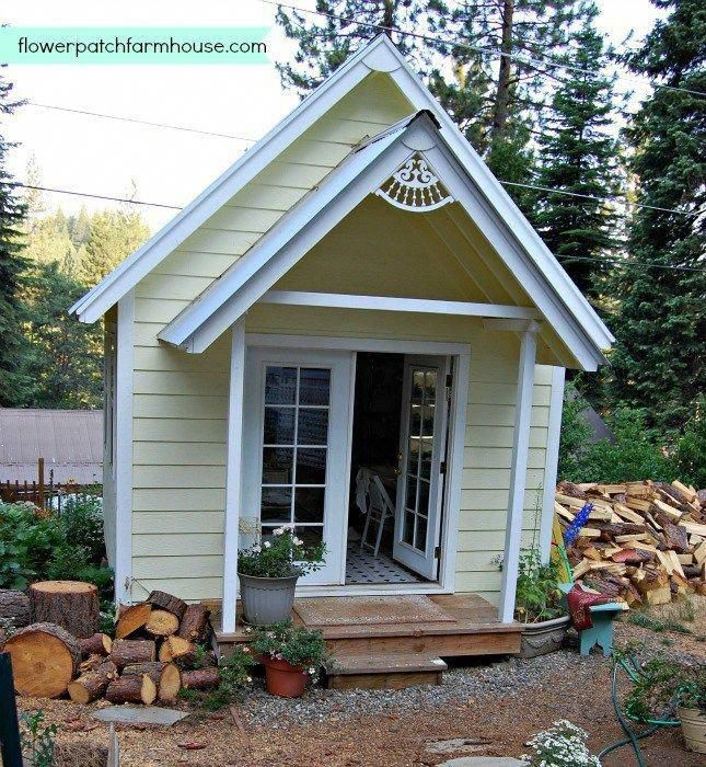 Build your own fabulous crafting cottage or garden shed in ...
