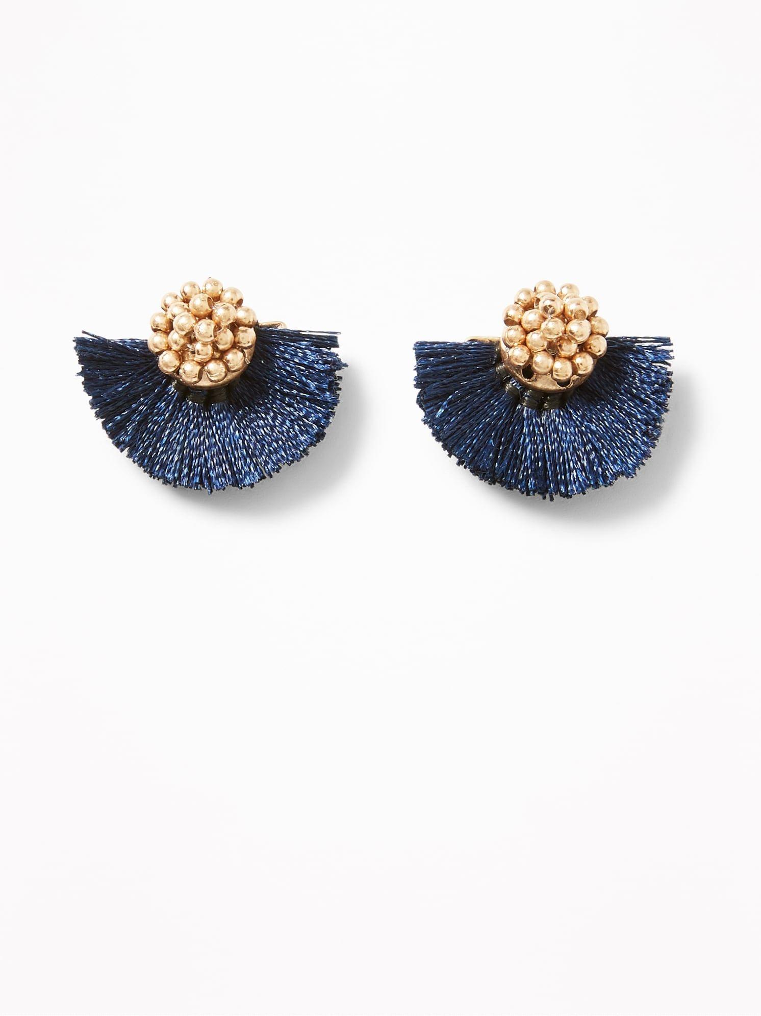 Christmas Gifts Girls Red Christmas Socks Earring Womens 18K Gold Plated Cute Shinning Stud Pierced Earrings