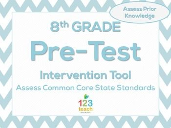 8th grade math beginning of the year ccss pre assessment 8th grade math beginning of the year ccss pre assessment fandeluxe Choice Image