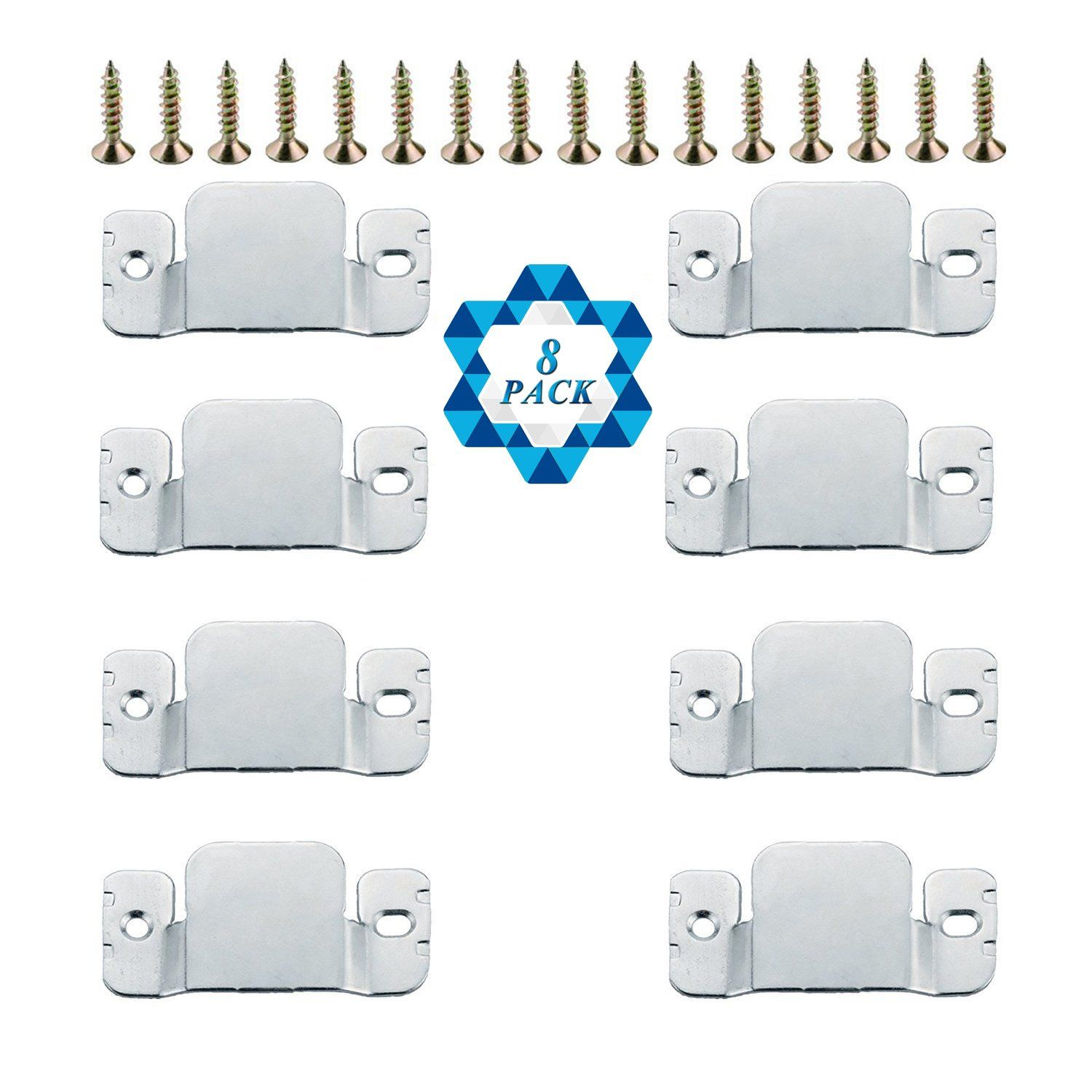 Sotogo 8 Pcs Sectional Connectors Furniture Interlock Style Metal Sectional Sofa Connectors With Screws In 2020 With Images Sectional Sofa Furniture Design Sectional