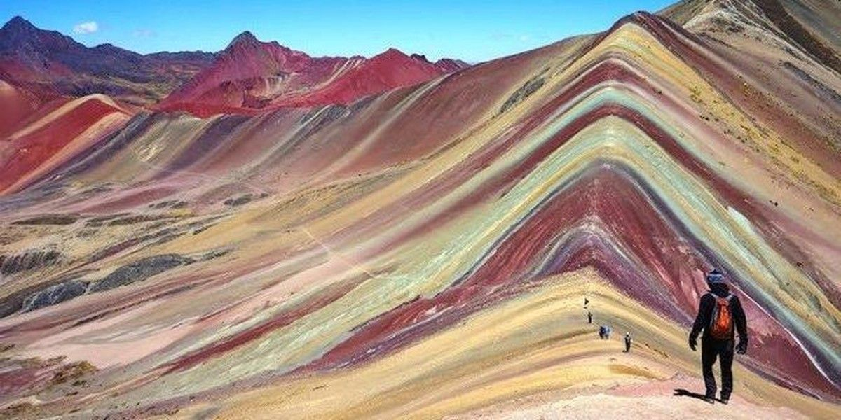 Welcome To The Breathtaking Psychedelic Rainbow Mountains ...