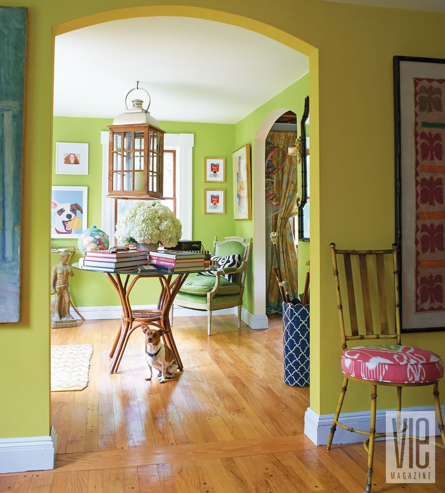 Christian Siriano bright and bold Connecticut home   VIE ...