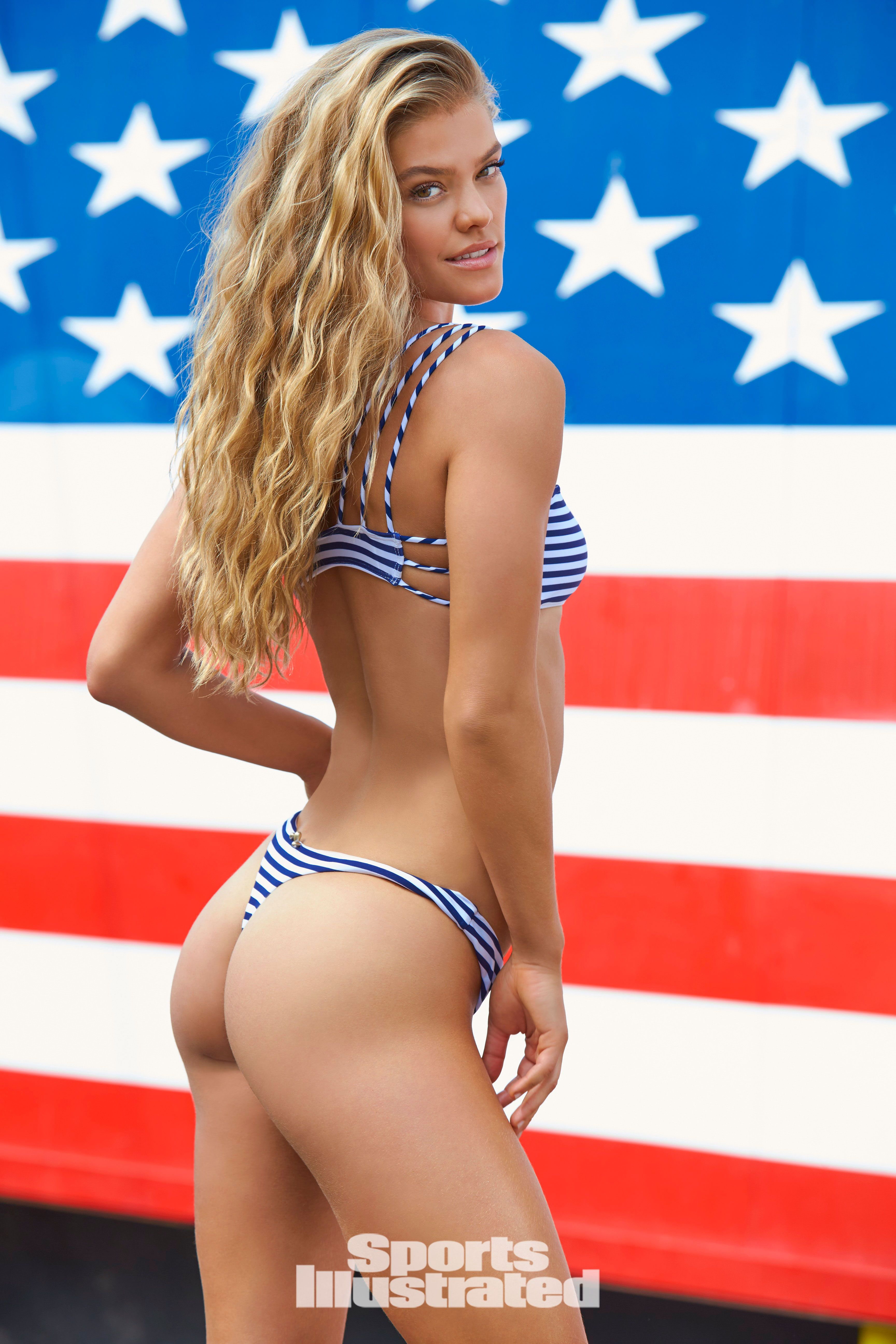 Nina Agdal owns Coney Island in new Swimsuit spread | Nina ...