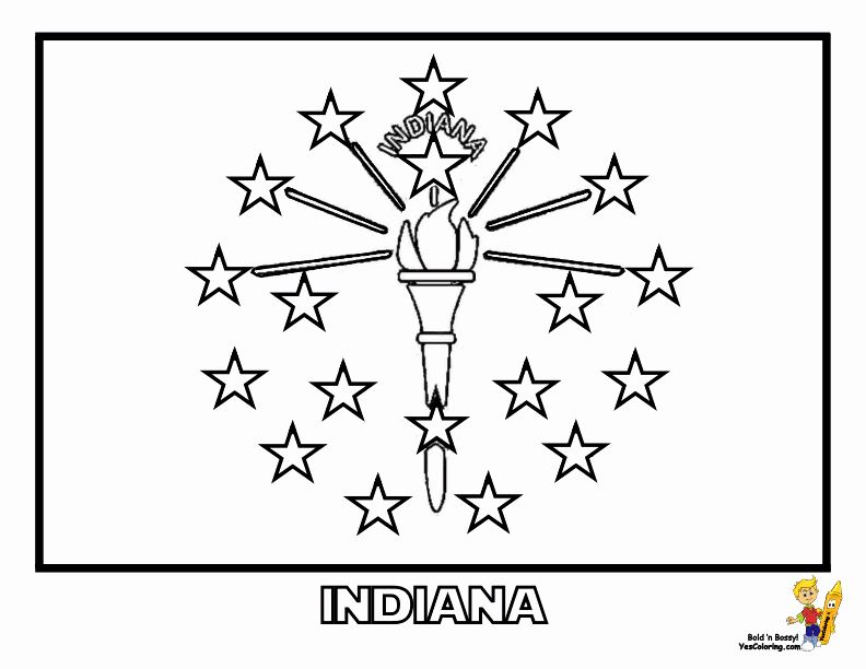 Free Flag Coloring Pages Best Of Gallant State Flags Coloring