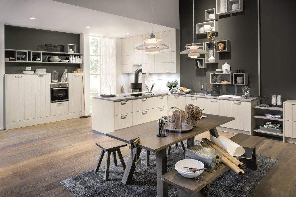 Montana Oak Nordic kitchen with Soft Pearl Grey | Kitchen Trends ...