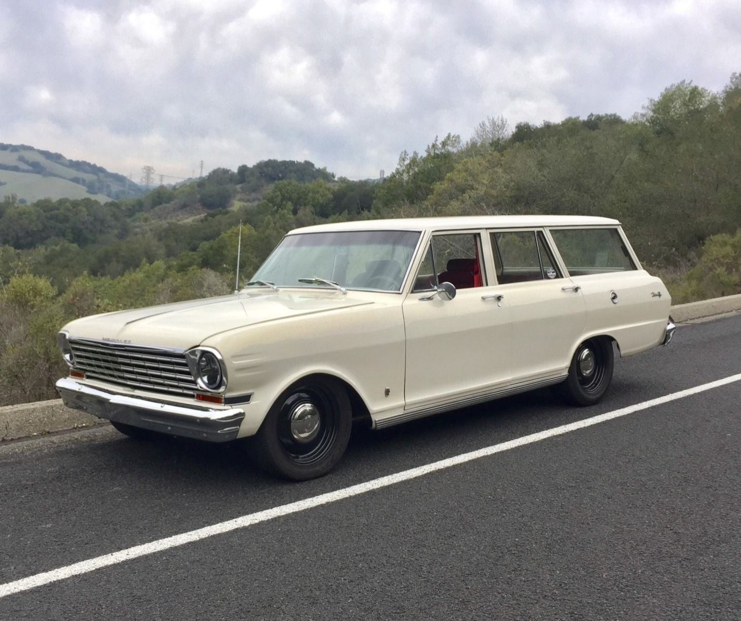 Ls1 Powered 1963 Chevrolet Nova Wagon With Images Chevrolet