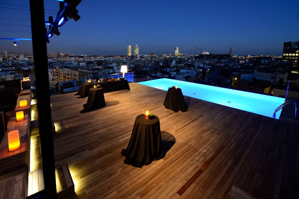 Rooftop living soirée