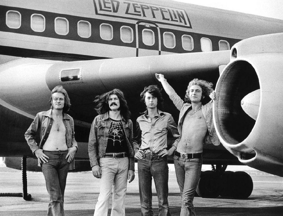Led Zeppelin\\ Bob Gruen - american photographer, known for portraits of rock musicians and bands.