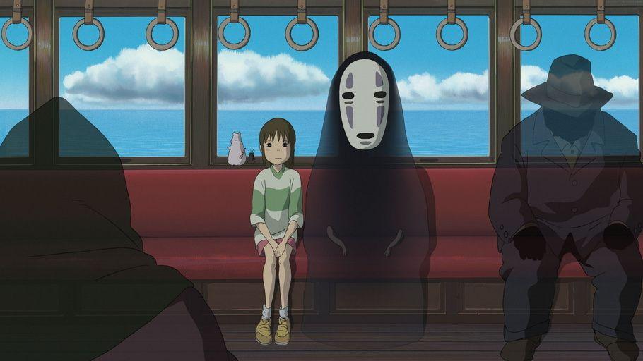 Anime Bo Faceless Art Spirited Away Chihiro Studio Ghibli Movies Ghibli Movies Anime Films