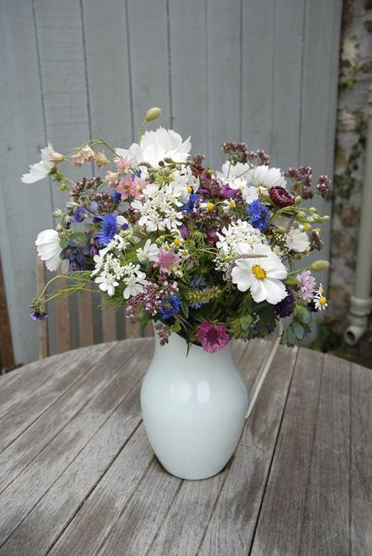 A Day in the Life  The Garden Gate Flower Company heavenly Cornish meadow bouquets amidst A Day in the Life  The Garden Gate Flower Company heavenly Cornish meadow bouque...