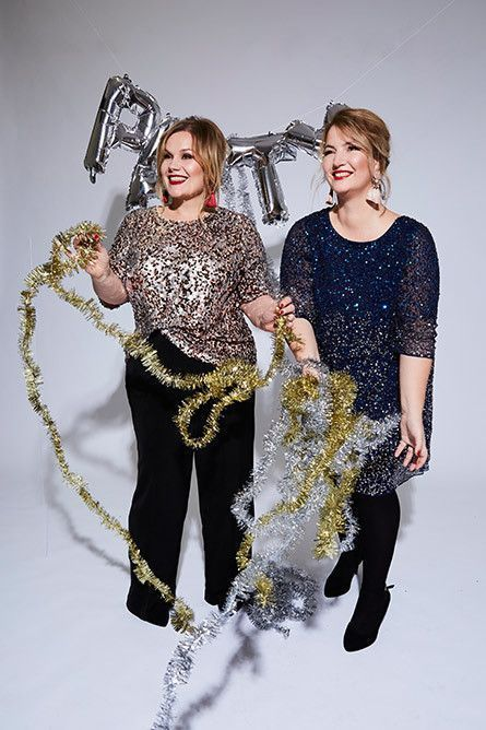 Plus Size Weihnachts Outfit #silvesteroutfitdamen