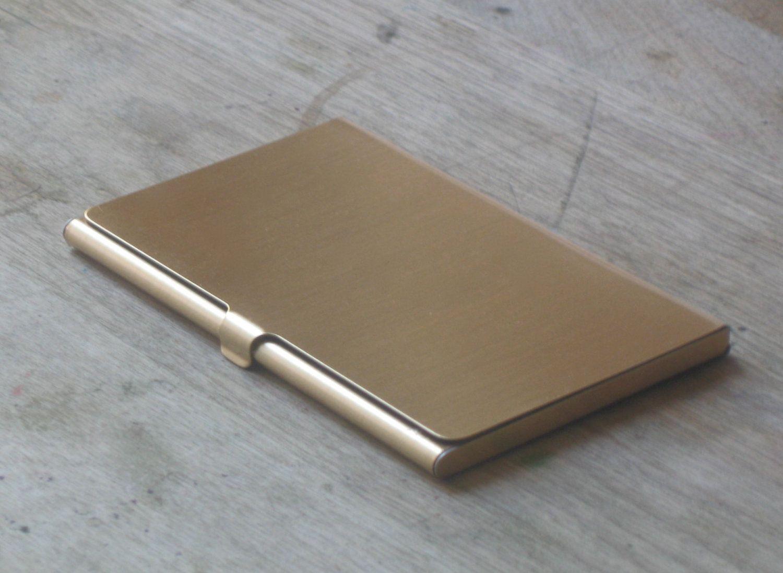 Brass Business Card Case by JulieNolan | Pen-ultimate geekery ...