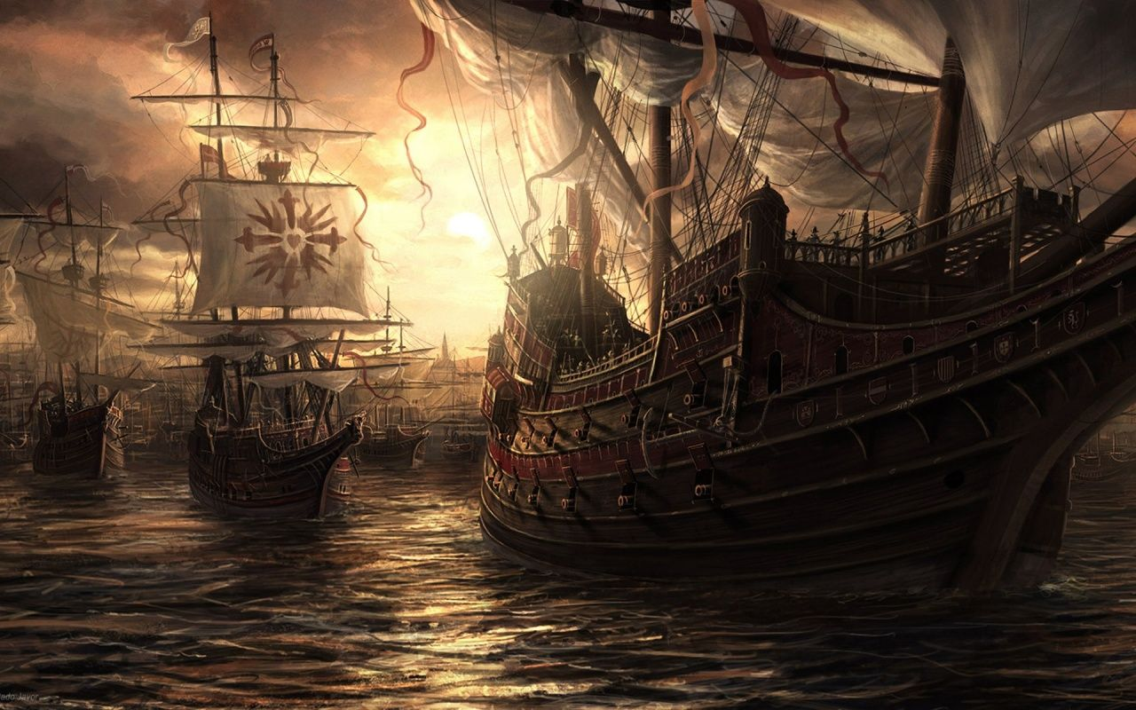Real Pirate Ships | Anchored for the night. But Beware!