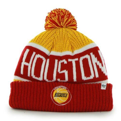 huge selection of 13173 bdd12 inexpensive houston rockets hi 5 cuffed pom beanie 79465 f3274  discount  code for amazon houston rockets red gold calgary beanie hat with pom 8727f  87e07