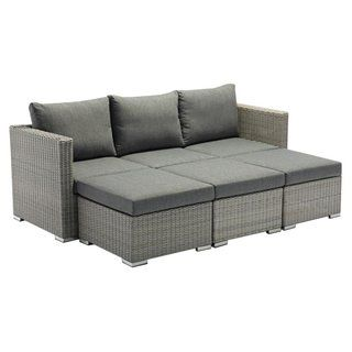 Jack Lounge Comfort Zebra Möbel In Farbe Slate #gartenmöbel #jaegergarten