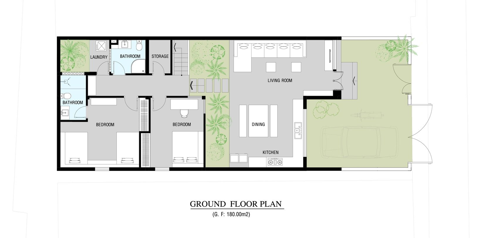 Go Vap House - Saigon, Vietnam Small urban house for a family of ...