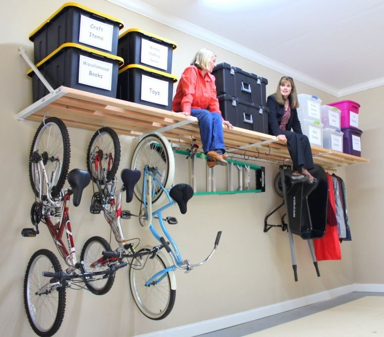 Easy one person installation do it yourself pictoral make garage organization easier with smart garage storage solutions that give every item in your garage a home with pegboards shelves totes and more solutioingenieria Choice Image