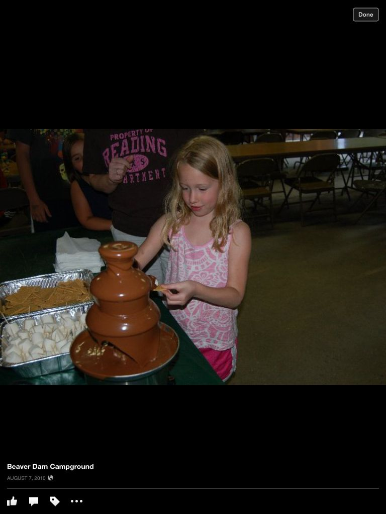 Chocolate fountain, Candy Land weekend!