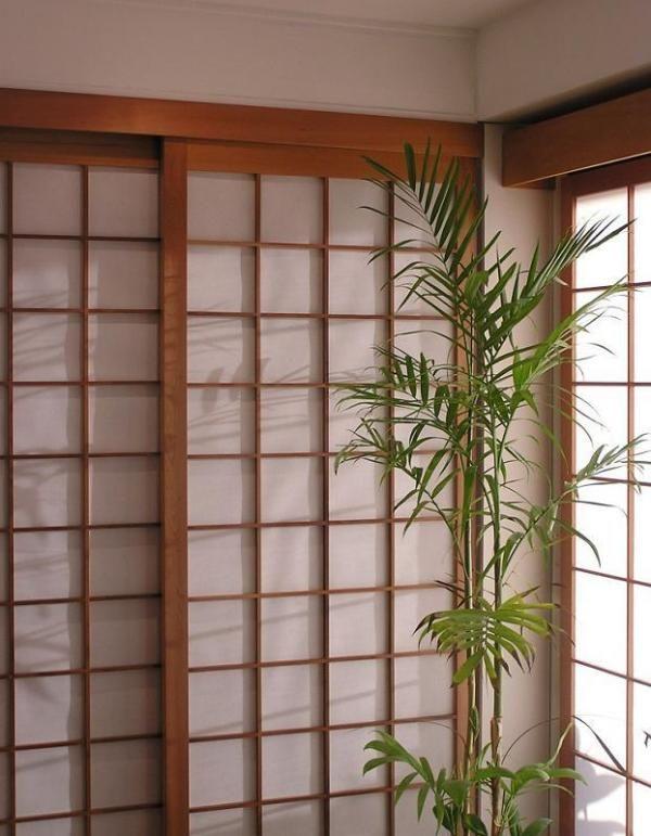 Comment fabriquer une porte japonaise dans l 39 architecture traditionnelle japonaise un shoji - Transformer une porte normale en porte coulissante ...