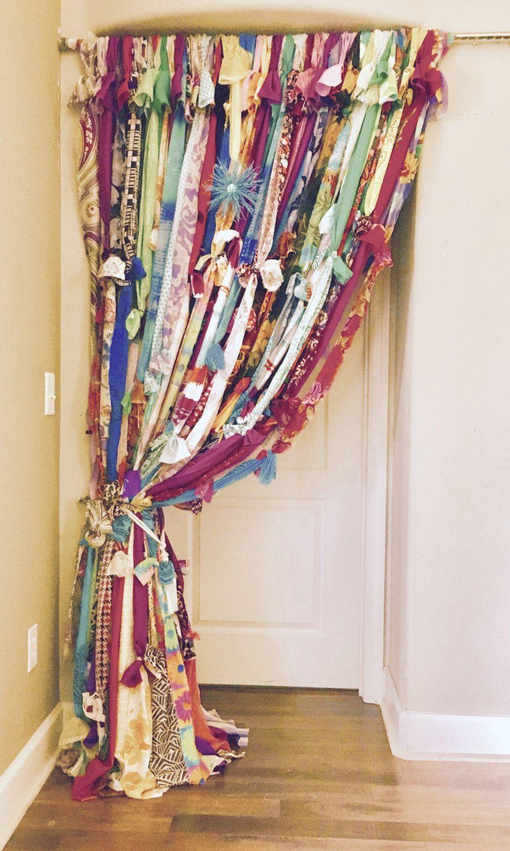 Gypsy bohemian strand curtain cortinas cortinas para for Cortinas marroquies