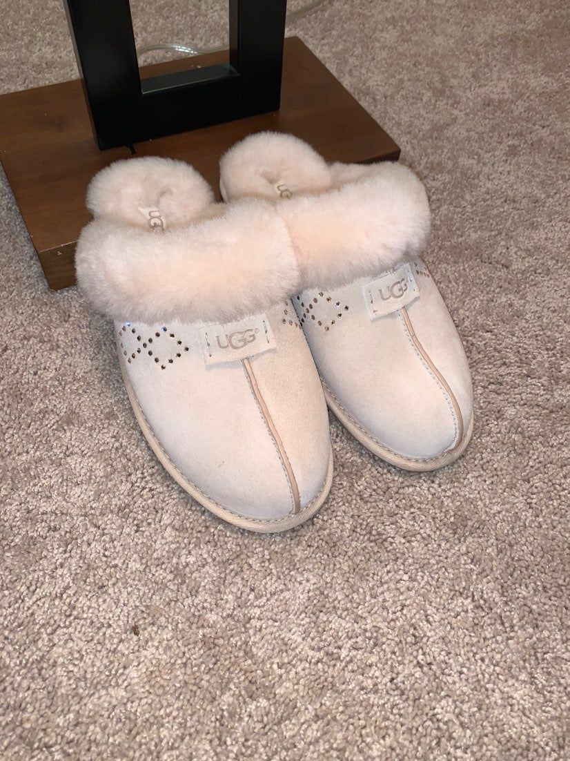 UGG Pure slippers with rhinestones
