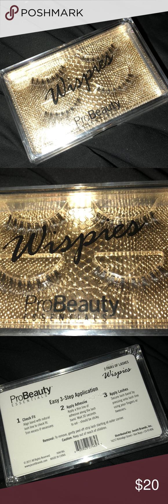 02c372802de Pro Beauty Essentials Wispies💫 New Beautiful Ulta Beauty Makeup False  Eyelashes